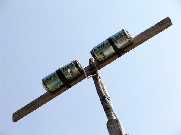 Как сделать антенну из кабеля для тв 31