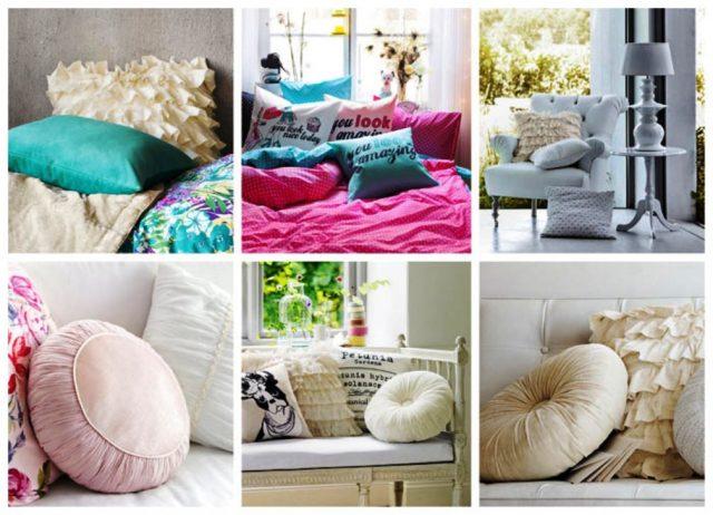 Чем наполнить подушку своими руками