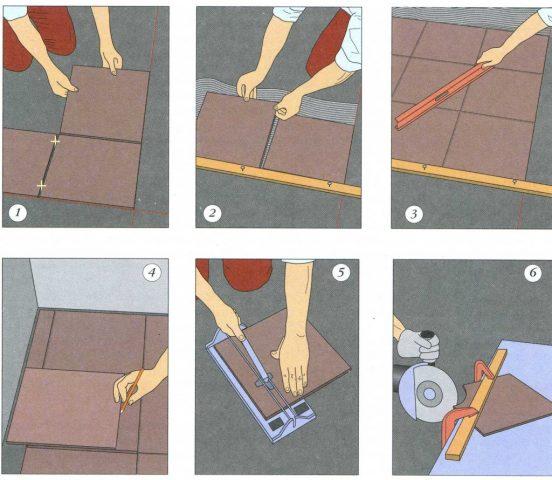 Укладка керамогранита на пол (инструкция)
