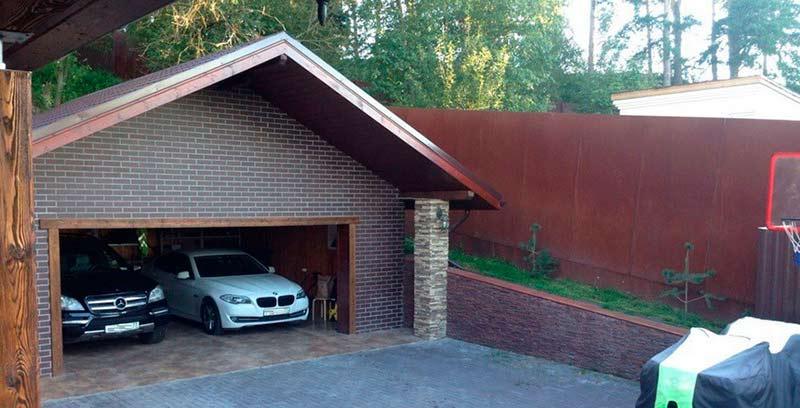 Вес металлического гаража 3х6 двускатной