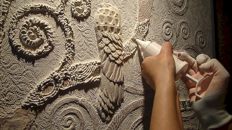 Как сделать барельеф на стене своими руками
