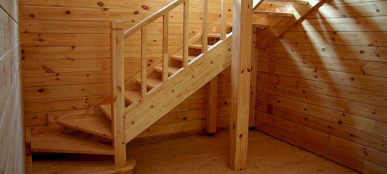 Как сделать деревянную лестницу своими руками