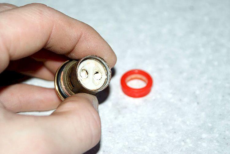 Замена керамический дисков