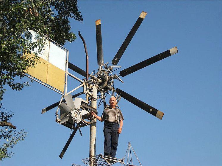 ветряк на даче своими руками фото зависят они