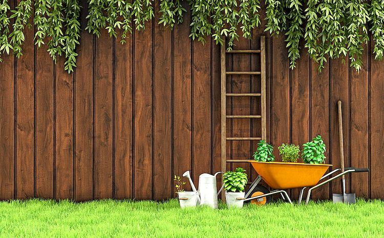 забор для дачи своими руками