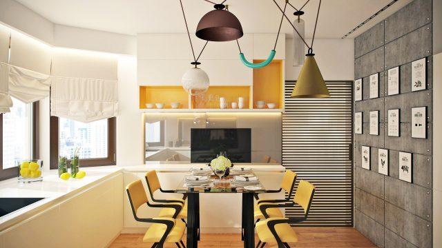 Дизайн квартиры в доме серии П-44Т