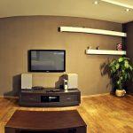 Жилая комната в студии