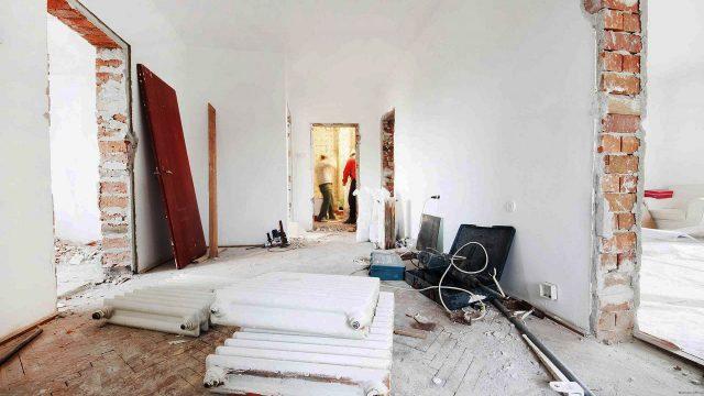Расположение комнат в доме