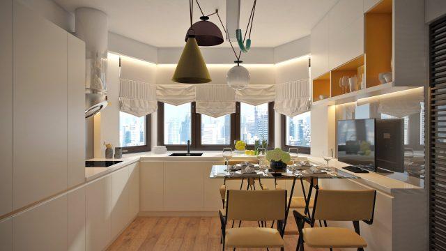 Расположение на кухни