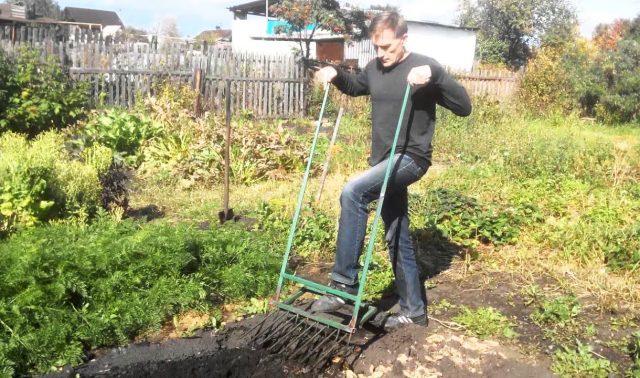 Применение чудо-лопаты