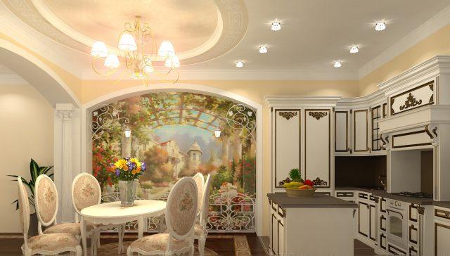 Стиль Барокко на кухне