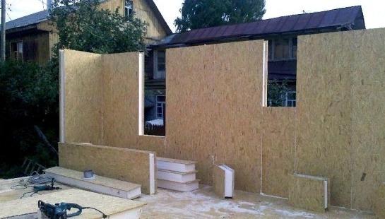 Заводская панель для стен дома