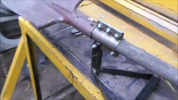 Самодельная чудо-лопата шаг 2