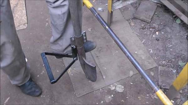 Самодельная чудо-лопата шаг 3