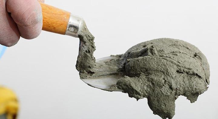 Как разделить пополам мешок цемента за минуту без пыли