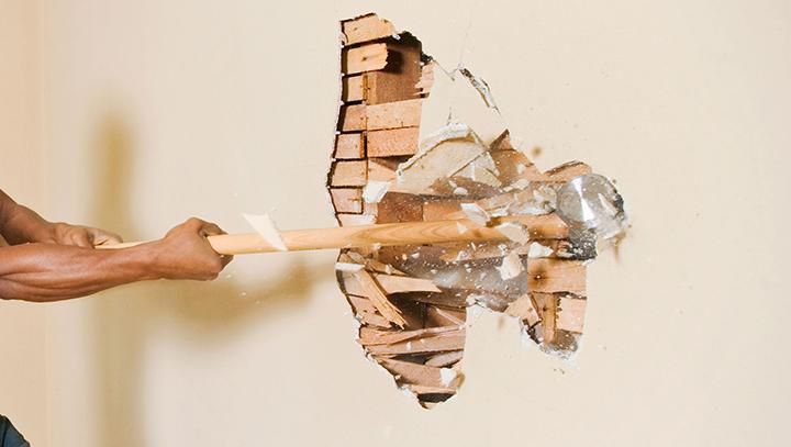 Как мы стену в квартире двигали