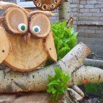Деревянный совенок