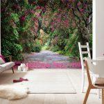 Фотообои с садом