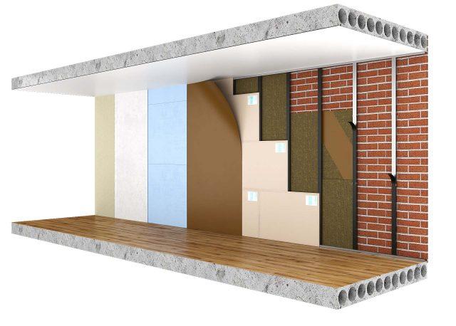 Каркасные конструкции шумоизоляции для стен
