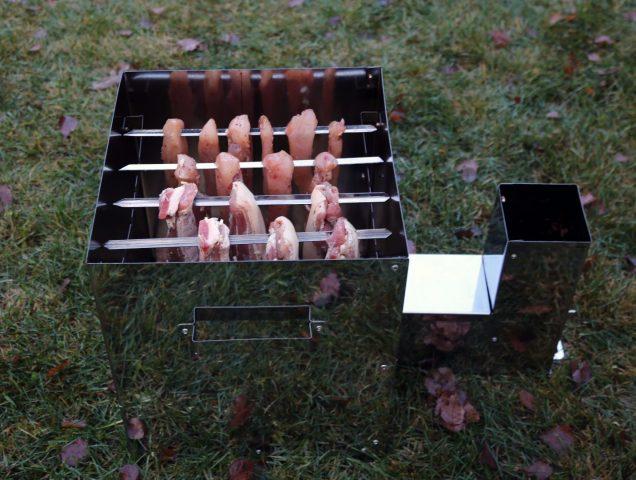Печь для холодного копчения