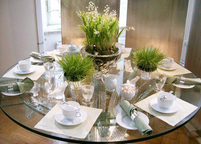 Цветочный столик