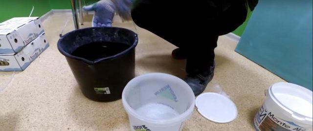 Подготовка клеевого состава