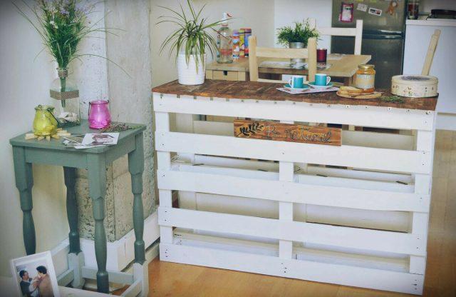 Мебель из поддонов своими руками: от стола до шкафа